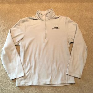 🛍3/$25 the north face 1/4 pullover
